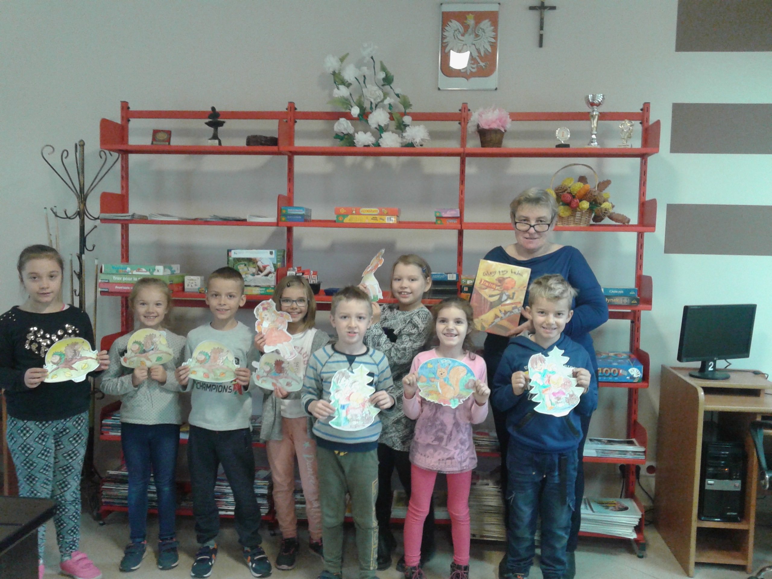 Więcej o: Drugoklasiści odwiedzili bibliotekę w Komornikach