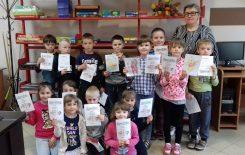 Więcej o: Tydzień Bibliotek z przedszkolakami z Komornik